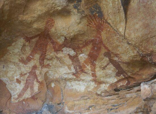 Aborigine Felszeichnungen in Nordaustralien