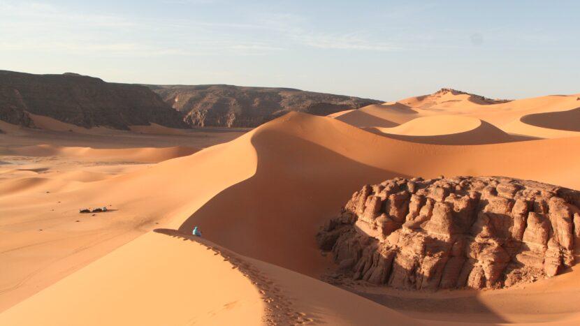 Dünen in Südalgerien Land der Tuareg Expeditionen und Abenteuerreisen