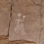 Das Felsbild der weissen Frau