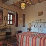 Zimmer einer Kasbah in der wir übernachten