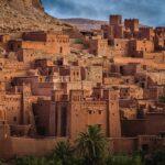 Ksar in Königreich des Maghreb Marokko